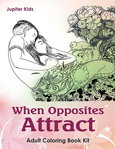 When Opposites Attract Adult Coloring ebook