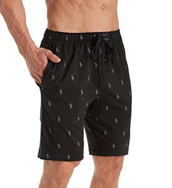 f80268aed Polo Ralph Lauren Men s All Over Pony Player Jersey Sleep Shorts at Amazon  Men s Clothing store