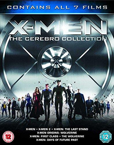 X-Men - The Cerebro Collection (Xmen The Wolverine Blu Ray)