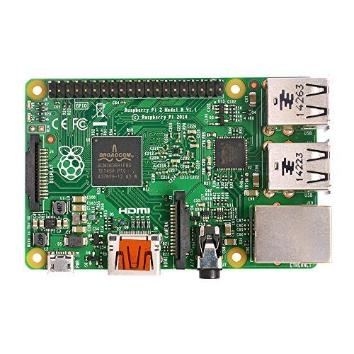Raspberry Pi 2 Model B ARM Cortex - A7 Quad Core CPU 900MHz 1GB RAM 4 USB ports Project Board for Learner