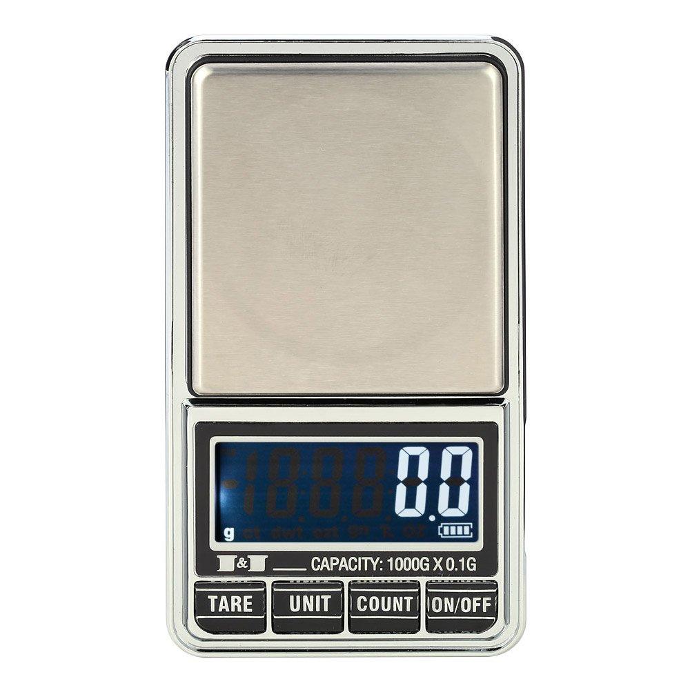 Escala de joyería Dongjinrui 1000G*0,1G Mini Balanza Báscula Digital de bolsillo balanzas electrónicas de precisión Balanza de joyería Joyeria Balanza ...