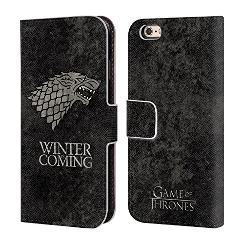 official-hbo-game-of-thrones-stark-dark-distressed-sigils-leather-book-wallet-case-cover-for-apple-i