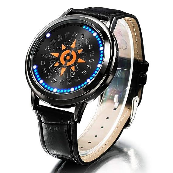 4d1ec5dba wildforlife Digimon Aventura Tri. Taichi Escudo de Valor táctil LED Reloj:  Amazon.es: Relojes