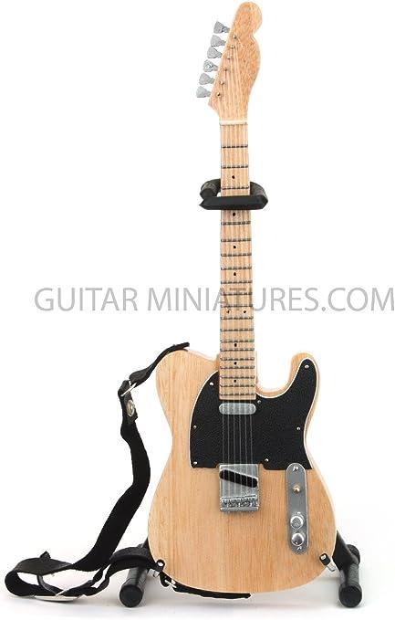 Keith Richards de los Rolling Stones la guitarra en miniatura ...