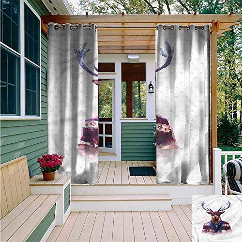 Amazon.com: Beihai1Sun Curtains for Living Room,Funny Eat ...
