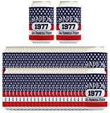 40th Birthday Gift Coolie Made 1977 Can Coolies 96 Pack Can Coolie Drink Coolers Coolies Patriotic