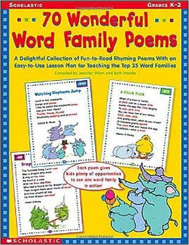 Workbook christmas grammar worksheets : Amazon.com: 70 Wonderful Word Family Poems: A Delightful ...