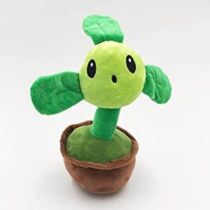 TavasHome Plants vs Zombies 2 PVZ Figures Plush Baby Staff Toy Xmas Stuffed Soft Doll Roof Survival (Blover)