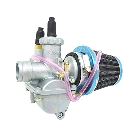 Amazon com: Carburetor W/Air Filter For SUZUKI AX100 KAWASKI