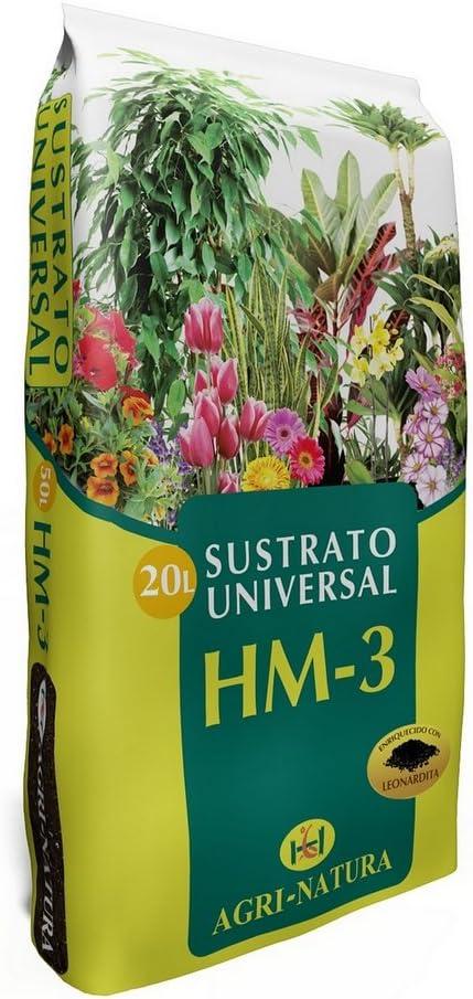 Sustrato / Turba Universal para el cultivo Agri-Natura HM-3 (20L ...