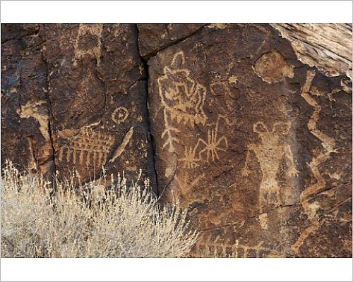 Amazon|の写真印刷Petroglyphs...