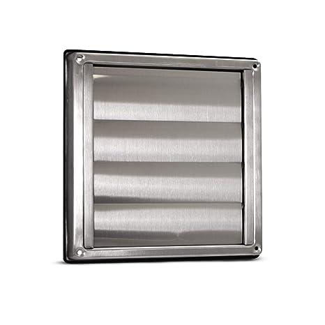 Rejilla de ventilación - Acero inoxidable - 100/125/150 mm ...