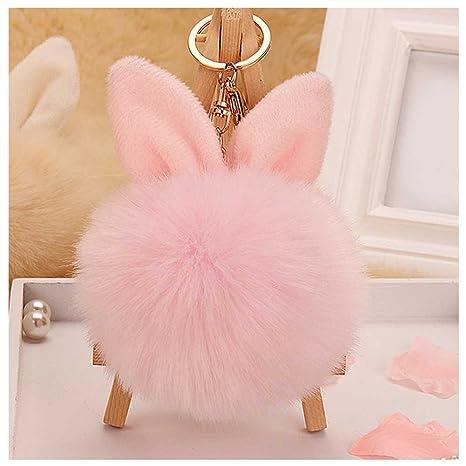 Amazon.com: Lays conejo oreja pelota de piel sintética bolso ...