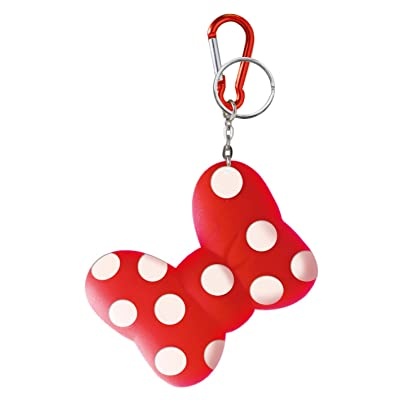 Disney Minnie Bow Coin Holder Key Ring: Toys & Games