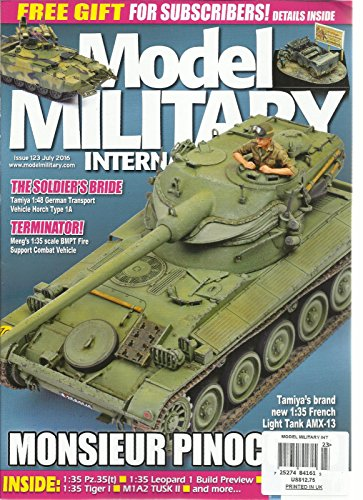 MODEL MILITARY INTERNATIONAL, JULY, 2016 ISSUE, 123 ( THE SOLDIER'S BRIDE ) ()