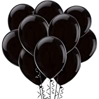 Black Balloons,100-Pack, 12-Inch, Latex Balloons (100)