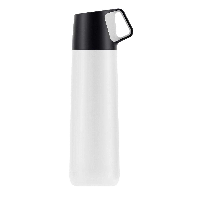 Thermos Termico Thermos da Viaggio con Coperchio a Tazza Bottiglia per Acqua isolata t/è e caff/è SBA Direct per Bevande Calde e Fredde Doppia Parete