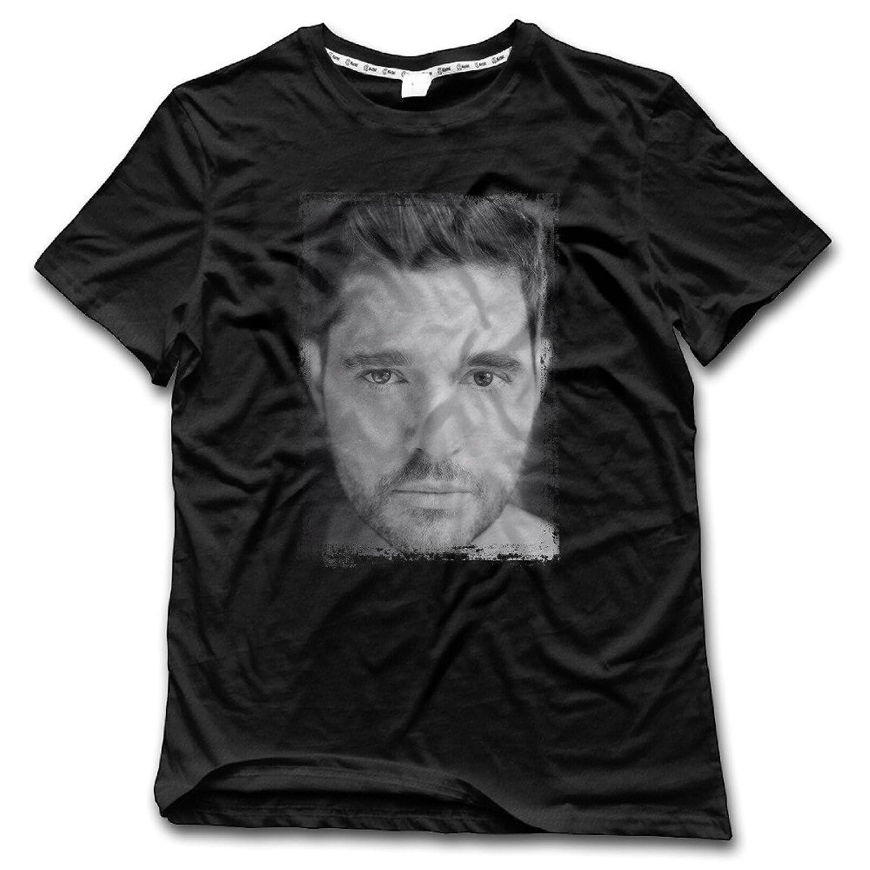 Singer Michael Buble Portrait Poster Man's T-Shirt