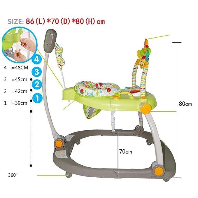 WSJTT Caminador de Actividades para niños - Sentado o en ...