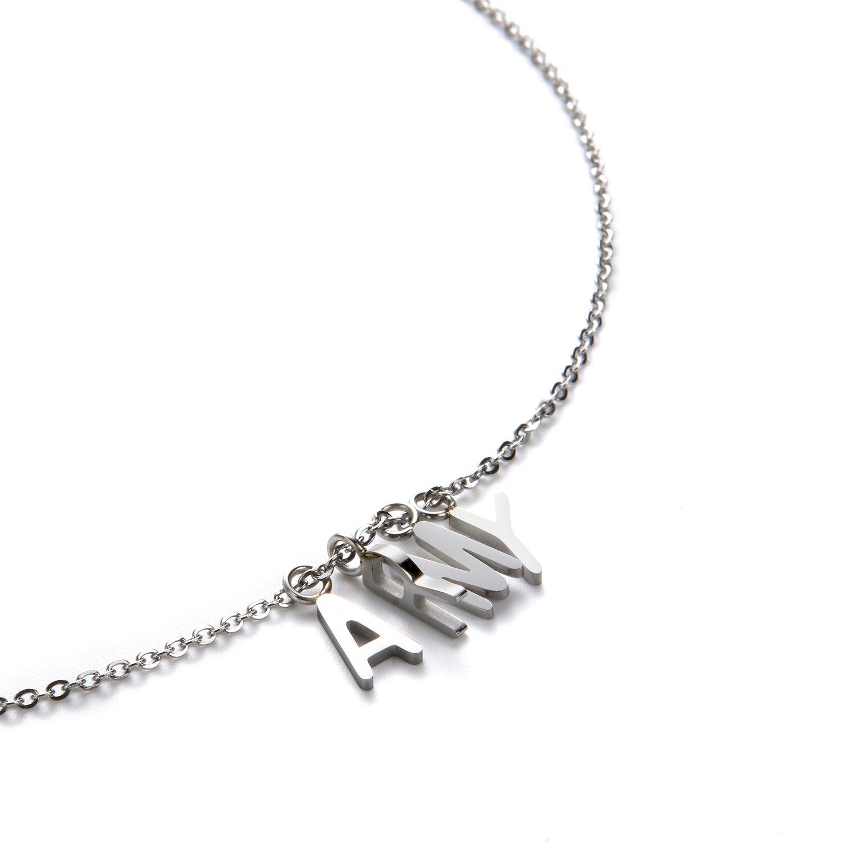 nemoyard Custom BTS merchandise choker necklace with gift box for Women Girls (17.5inch/45cm, necklace)