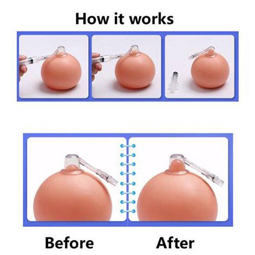 2 Set Nipple Corrector Device Correction for Inverted Nipples Treatment Enlarger by DBS (Image #5)