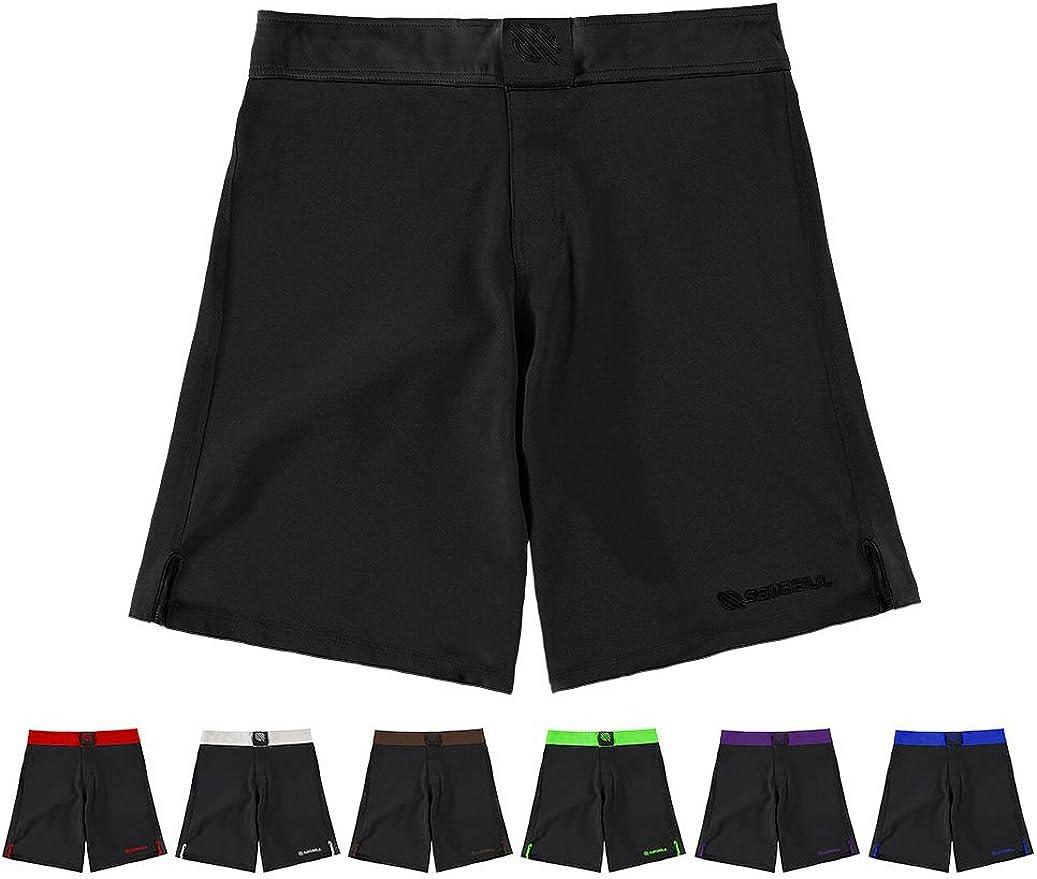 Sanabul Essential MMA BJJ Cross Training Workout Shorts: Clothing