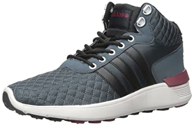 release date b9a49 ddb5d adidas NEO Men s Lite Racer Mid Lace Up Shoe, Lead Bold Onix Collegiate