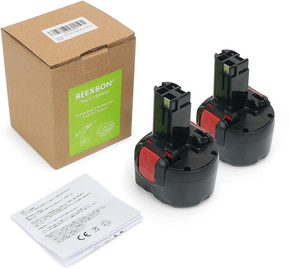 BAT139 GSR 9.6VE-2 2607335272 2607335260 BAT045 BAT043 BAT049 BAT120 BAT046 GSR 9.6-2 GSR 9.6 REEXBON Batterie Bosch 9.6V 3.0Ah NIMH Remplacement Batterie pour Bosch PSR 960 PSR 9.6 VE-2