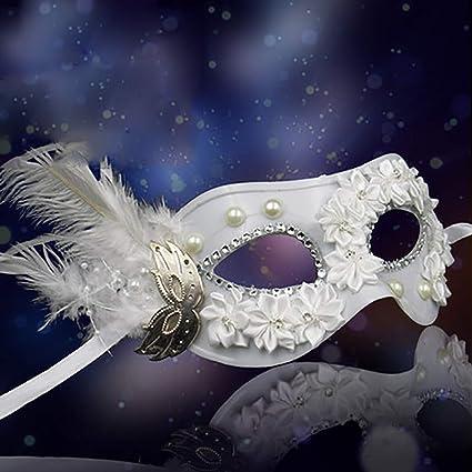HWHMJ Máscaras para Adultos máscara de Halloween de la Mujer Barra de la Etapa de la