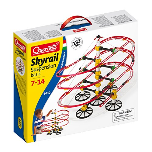 Marble Quercetti (Quercetti Basic Skyrail Suspension Playset)