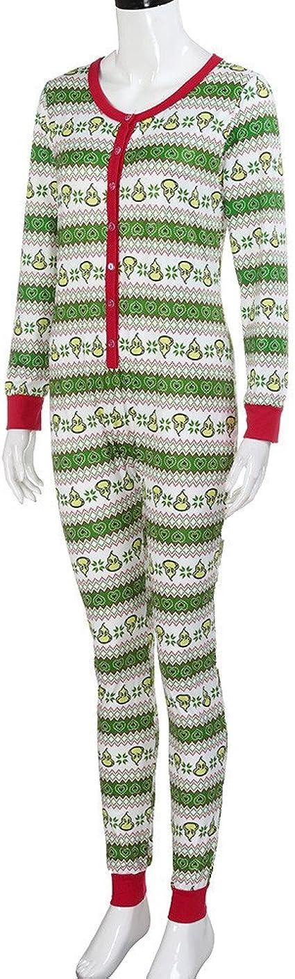 cinnamou Pijama De Navidad Conjunto De Pijama Familiar Pijama Estampado De Calabaza Mameluco De Bebé Monos Verde A Rayas Pijama De Manga Larga De Invierno: Amazon.es: Ropa y accesorios