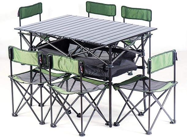 Tavolo Da Campeggio Con Sedie.Sedie Da Campeggio Con Tavolo Pieghevole Portatile Leggero All