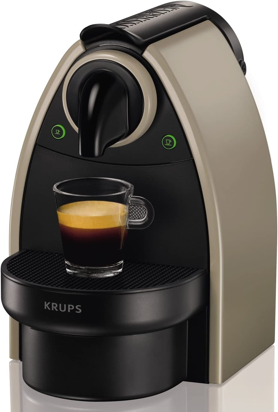 Nespresso XN 2140 Cafetera Essenza autovisión, 1260 W, Acero ...
