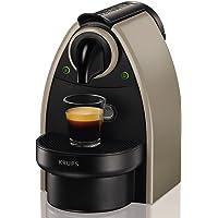Nespresso Krups Essenza XN 2140-Cafetera de cápsulas, 19 bares, ligera, color tierra