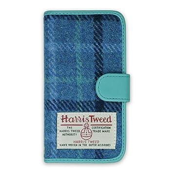 【iPhone7 ケース】 【アクセサリー//アクセサリー】 【人気ブランド 手帳型】 Harris Tweed Diary 【アウトレット品】 /(ホワイト×ブラック/)