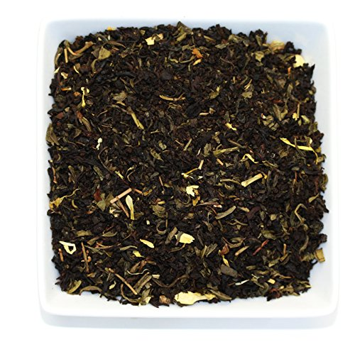 Tealyra - Jasmine Passionfruit - Green and Black Loose Leaf Tea - Hot and Iced Drink - Vitamins and Antioxidants Rich - Caffeine Medium - 112g (4-ounce) Blackberry Passion Fruit Tea
