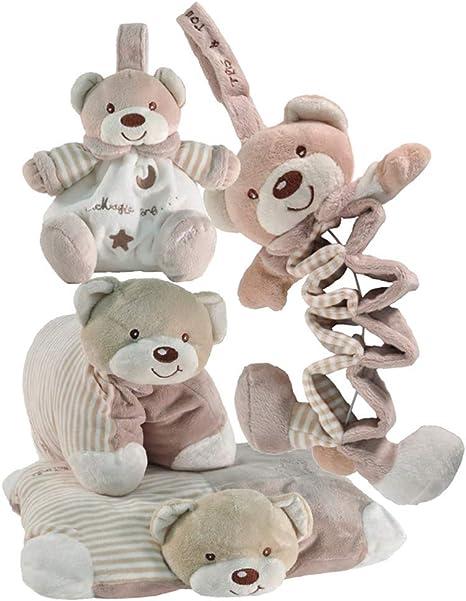 Tris & Ton Pack regalo recién nacido acordeon musical cojín y ...