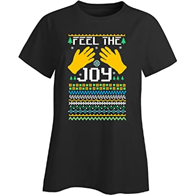 groovy gifts for all feel the joy of the holidays ugly christmas sweater ladies t - Feel The Joy Christmas Sweater