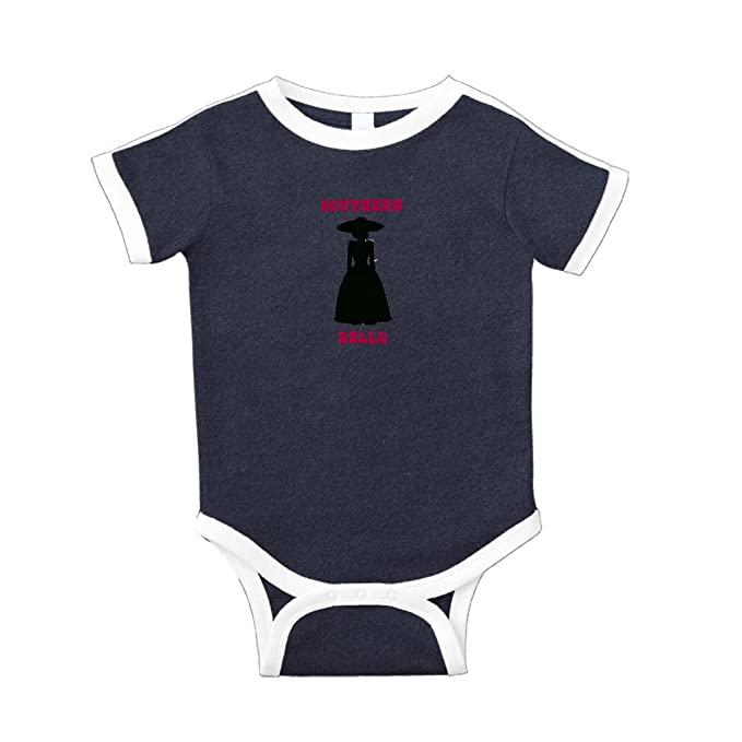 dade9f4f Southern Belle and Picture of A Woman Cotton Short Sleeve Crewneck Unisex  Baby Soccer Bodysuit Sports