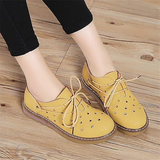 cc37a2372c93a Chaussures Femmes Chaussures de Sport Automne Hiver Oxford Chaussures Flats  Femmes Cuir Daim Lacets de Bateaux Bottes Rondes Orteils Plat Mocassins  ...