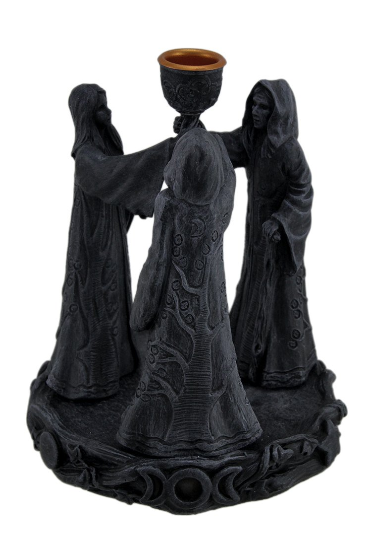 Zeckos Maiden Mother Crone Cone Incense Burner Pagan Wicca