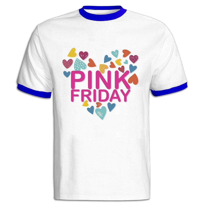 Men's Nicki Love 100% Cotton O Neck Short Sleeve Color Block T-Shirt