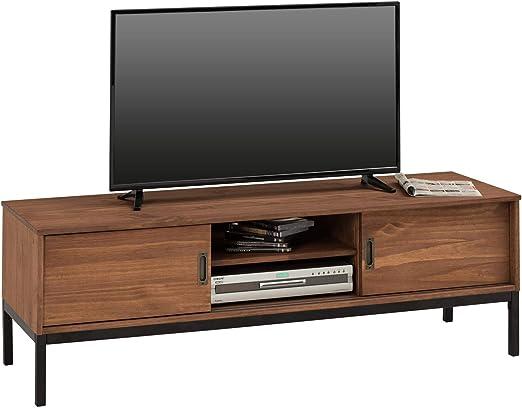 IDIMEX Mueble TV Selma Banco Televisión Estilo Industrial Design ...