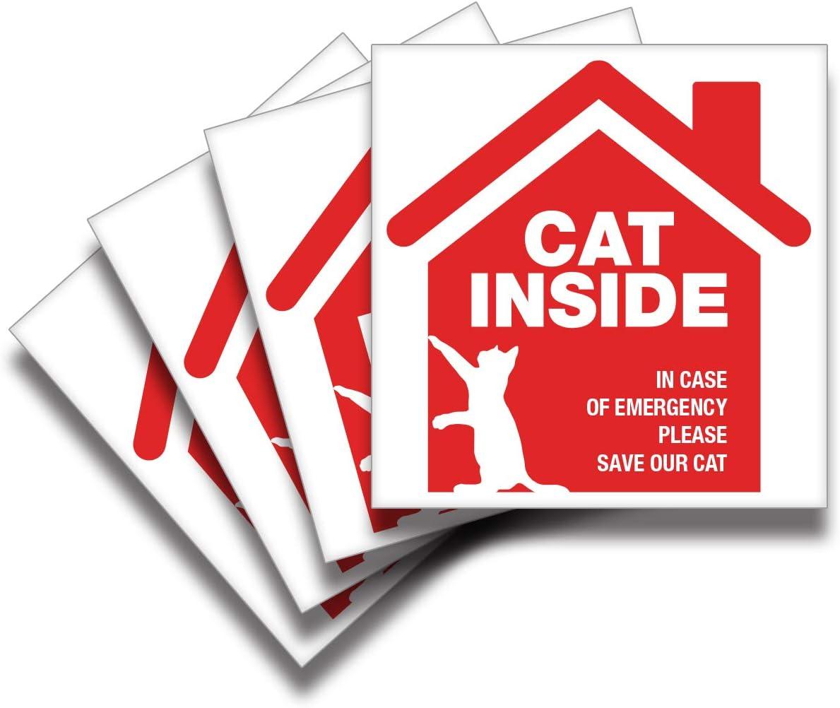 Amazon.com: iSYFIX Pegatina de alerta para mascotas – Parent ...