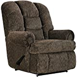 1407-12-17 Lane Stallion Big Man Comfort King WallSaver Recliner. Made for the Big Guy Or Gal. Free Curbside Delivery (Praline)