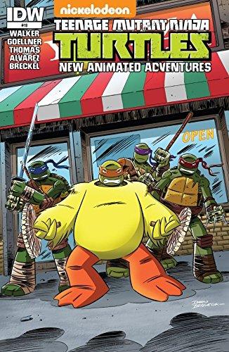 Teenage Mutant Ninja Turtles: New Animated Adventures #19