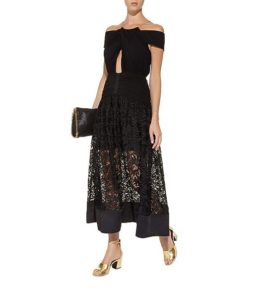 Dior Bella Black Lace Halter Maxi Dress At Amazon Womens