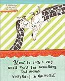 Curly Girl Design BLXAC67 ''Giraffe'' Art Block