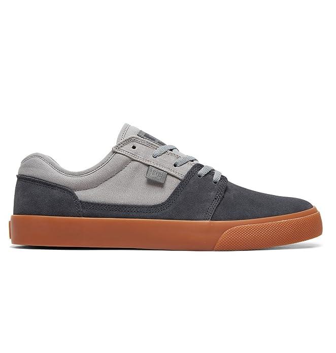 DC Shoes Tonik Sneakers Skateboardschuhe Herren Damen Unisex Erwachsene Grau/Hellgrau