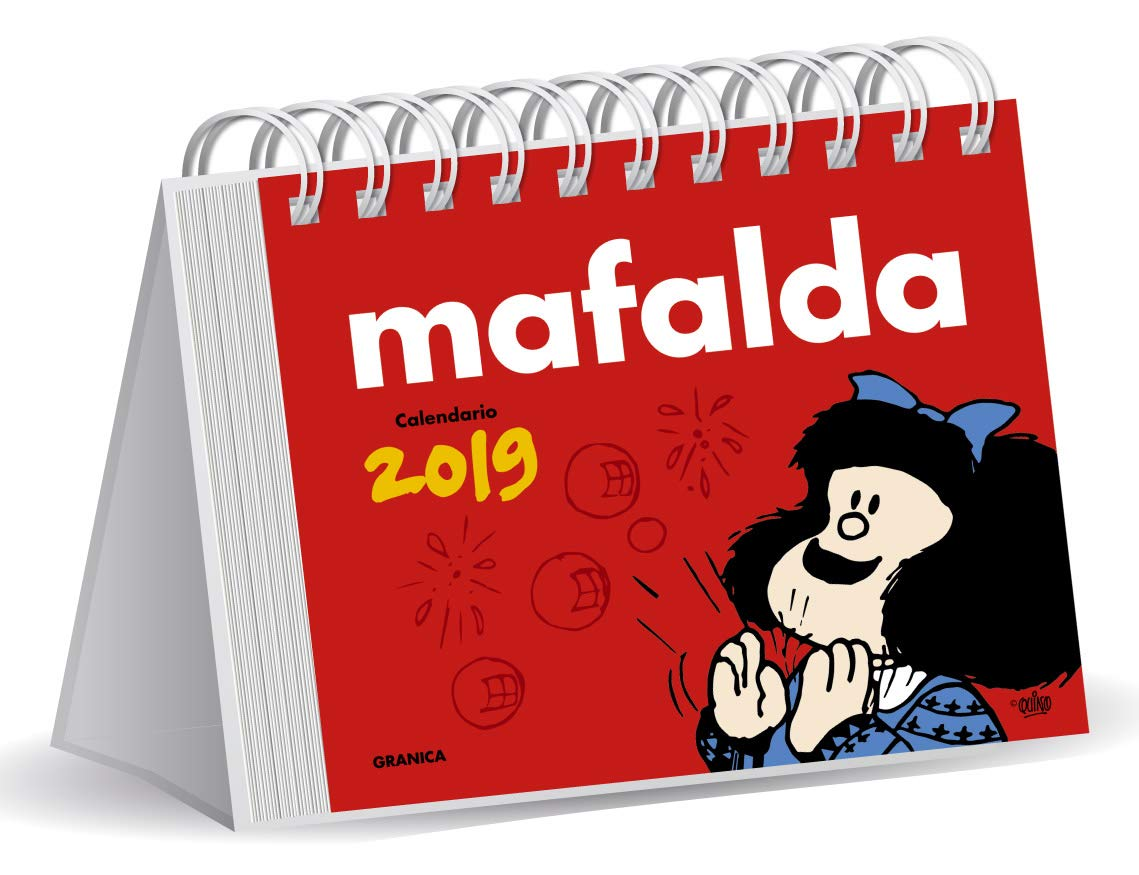 Granica GB00109 - Mafalda 2019 calendario escritorio: Amazon ...